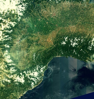 Nord-ouest-italie-sud-est-france-sentinel-2A