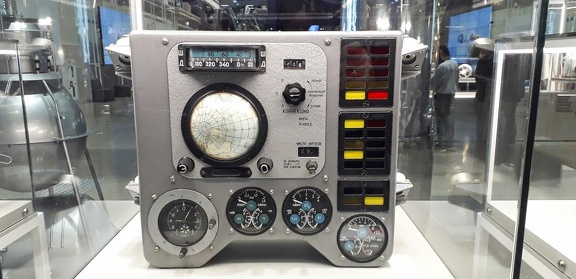 instrument panel vostok