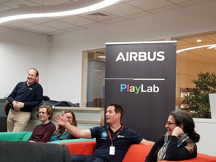 Thomas Pesquet chez Airbus Space